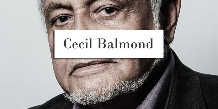 Cecil Balmond, Architect Portrait - Allan Fernandes Architectural Photography