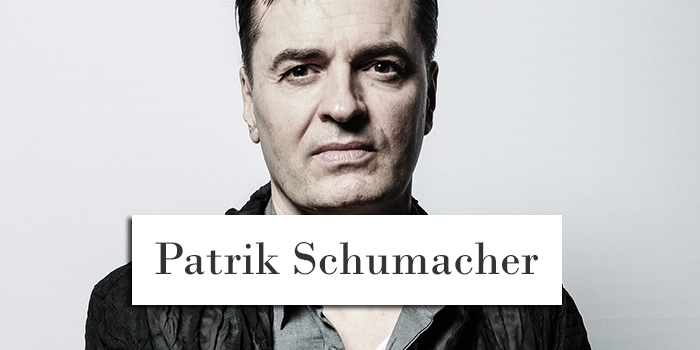 Patrik Schumacher, Architect Portrait - Allan Fernandes Architectural Photography