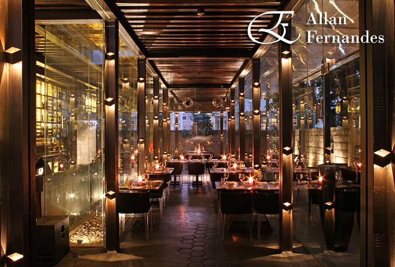 Restaurant Architecture Interior Photography by Allan Fernandes