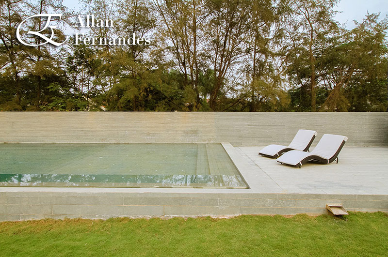 Swimming Pool Architectural Photography by Allan Fernandes